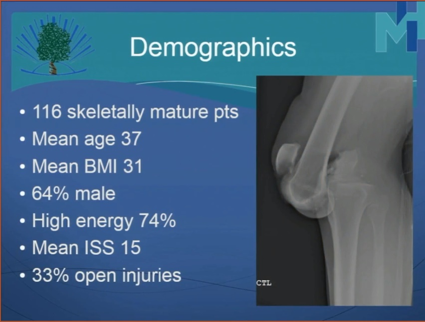 OTA knee dislocations