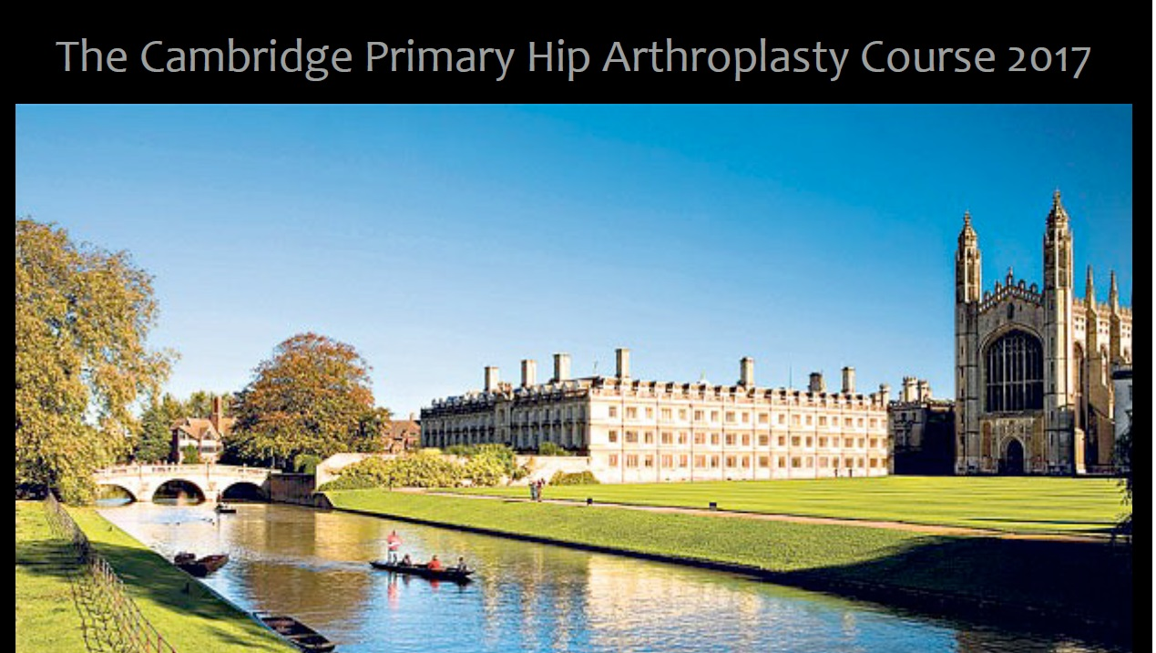 Cambridge hip course