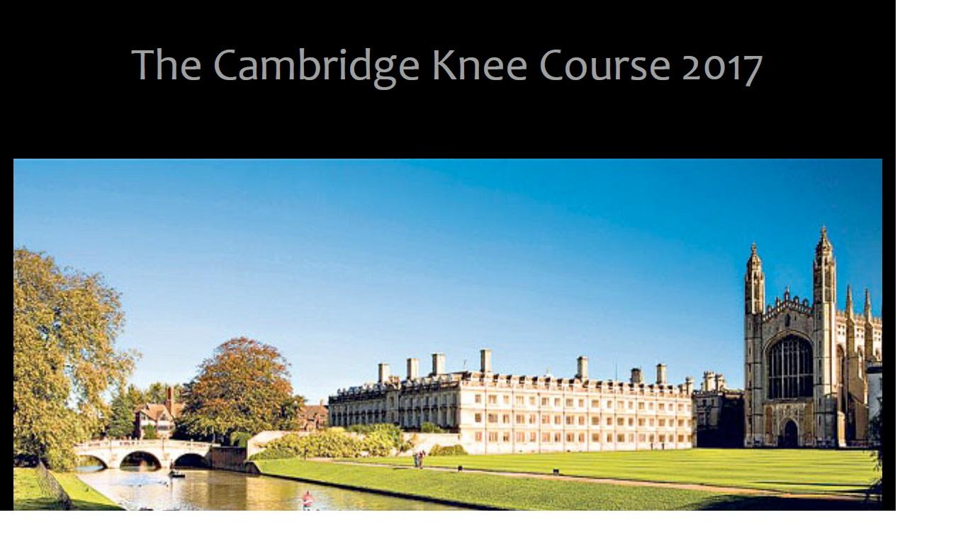Cambridge knee course