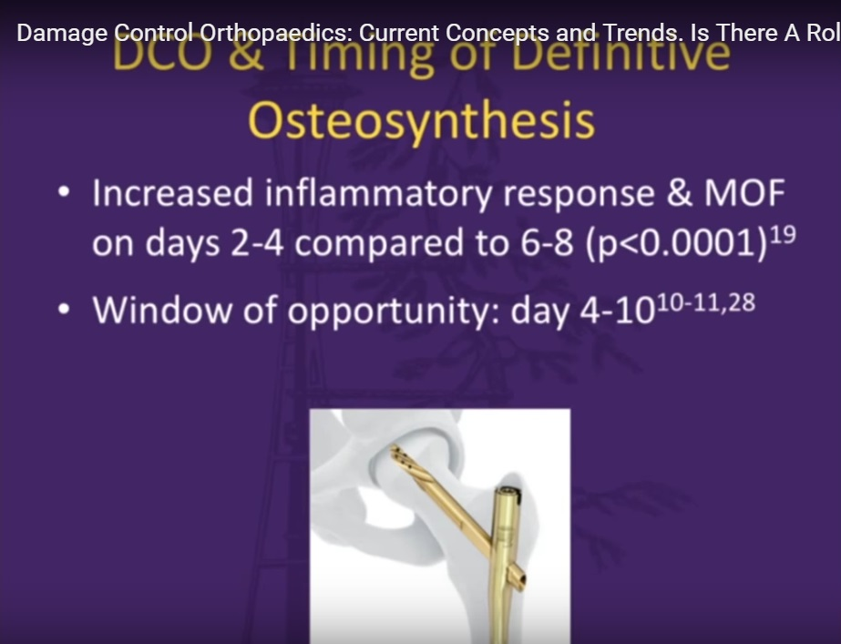 Damage Control Orthopaedics Current Concepts and Trends