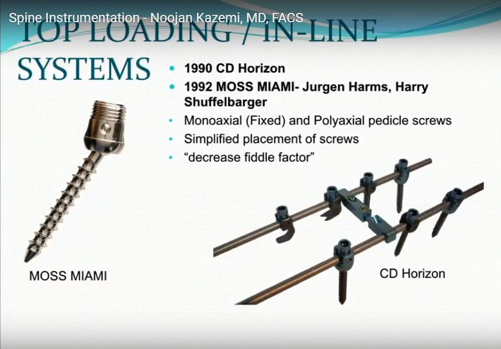 Spine Instrumentaion